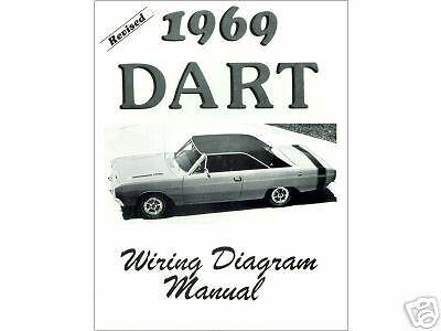 1969 69    DODGE       DART       WIRING       DIAGRAM    MANUAL   eBay