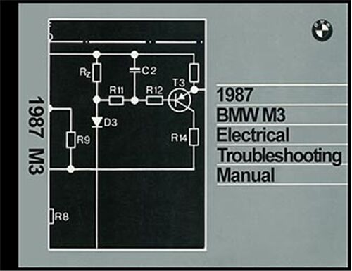 1987 Bmw M3 Electrical Troubleshooting Manual Wiring