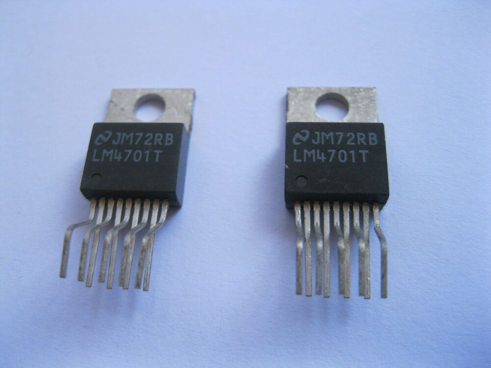 2 pcs 30w audio power amplifier ic chip lm4701 lm4701t ebay. Black Bedroom Furniture Sets. Home Design Ideas