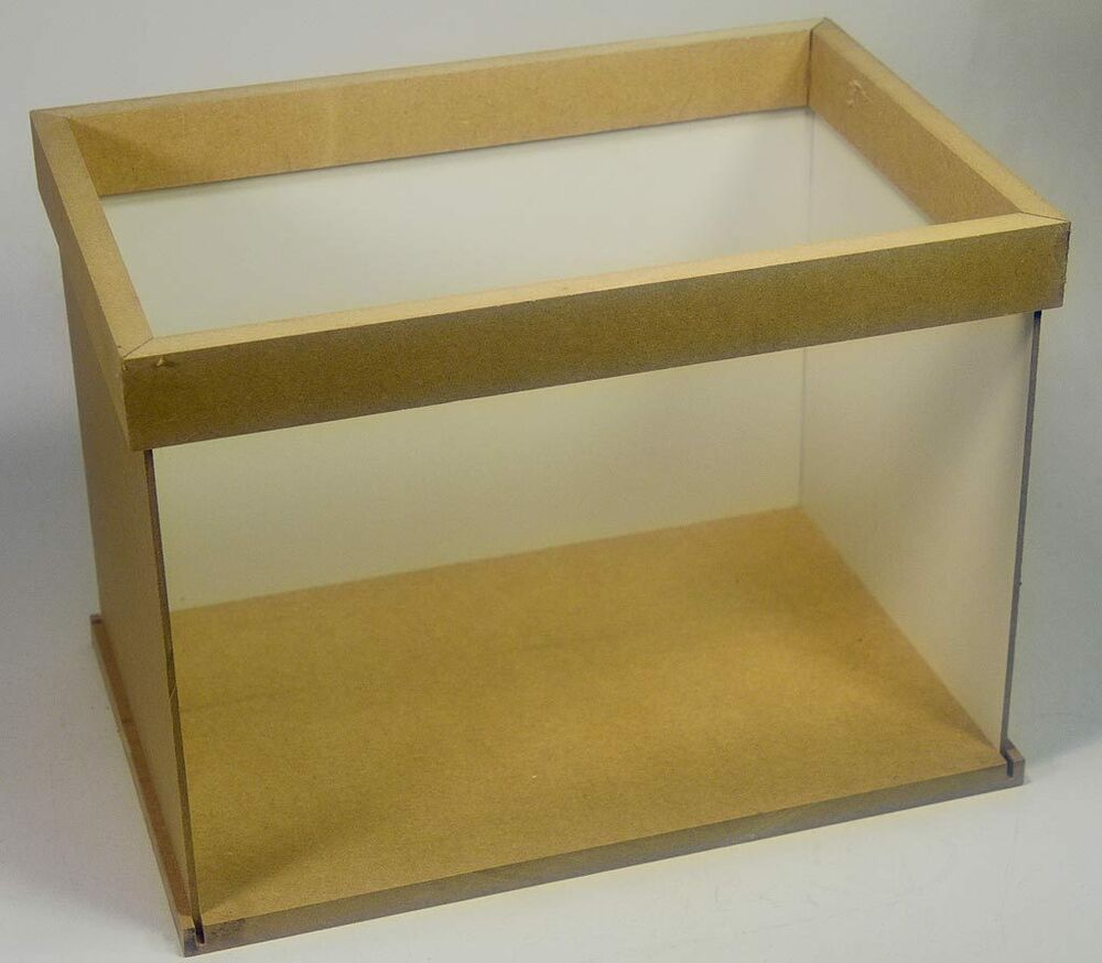 """12"""" Doll House Miniature Room Box Store Stall Shop Roombox"""