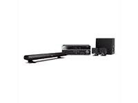 Yamaha YHT-494 5.1 Ch Home Theater System Black HDMI 3d Receiver Speakers+Sub