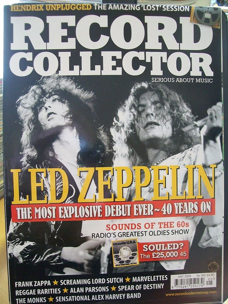 Record Collector Magazine, May 2009, No. 362, Led Zeppelin ...