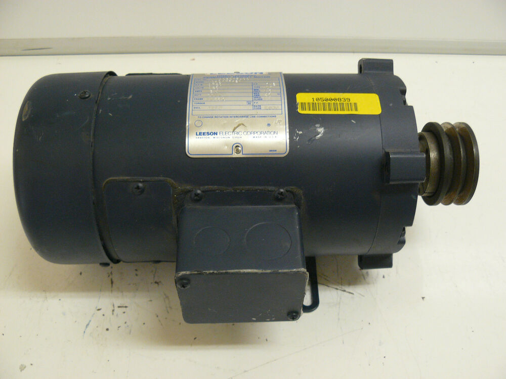 leeson direct current permanent magnet motor