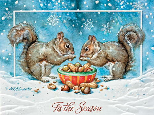 Christmas Cards Dinner For Two Pumpernickel Press