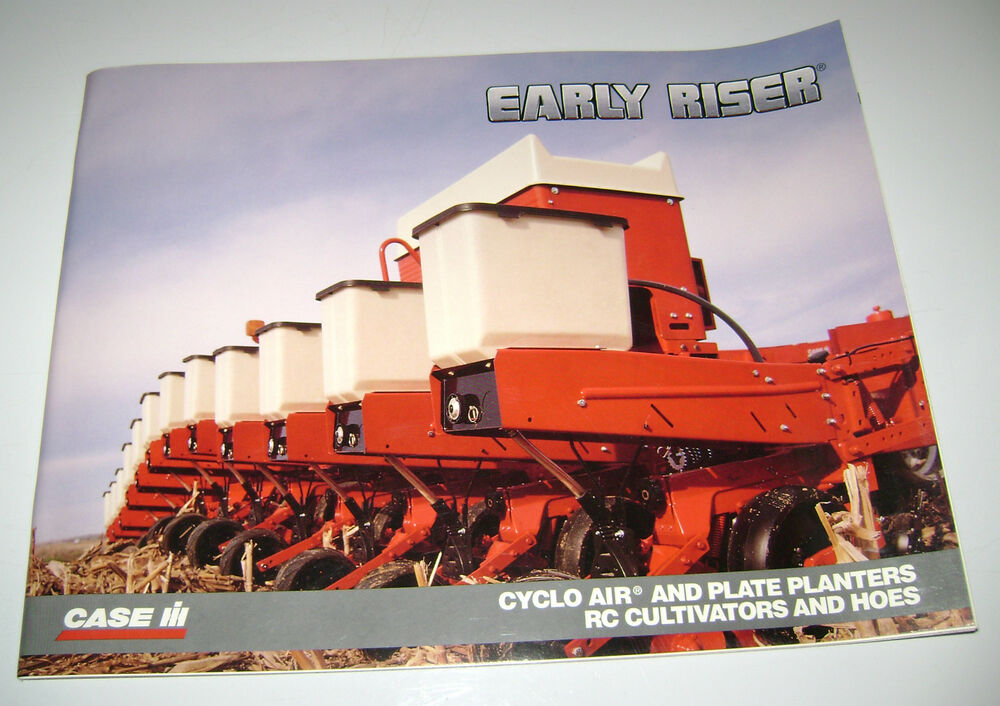 Case Ih Early Riser 900 955 Planter Sales Brochure
