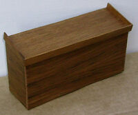 1:12 Scale Mahogany Display Counter Dolls House Miniature Shop Accessory A