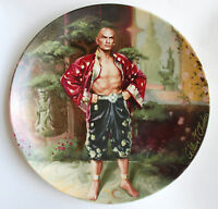 "YUL BRYNNER The King and I  Series Limited Edition ""A Puzzlement"" Plate -"