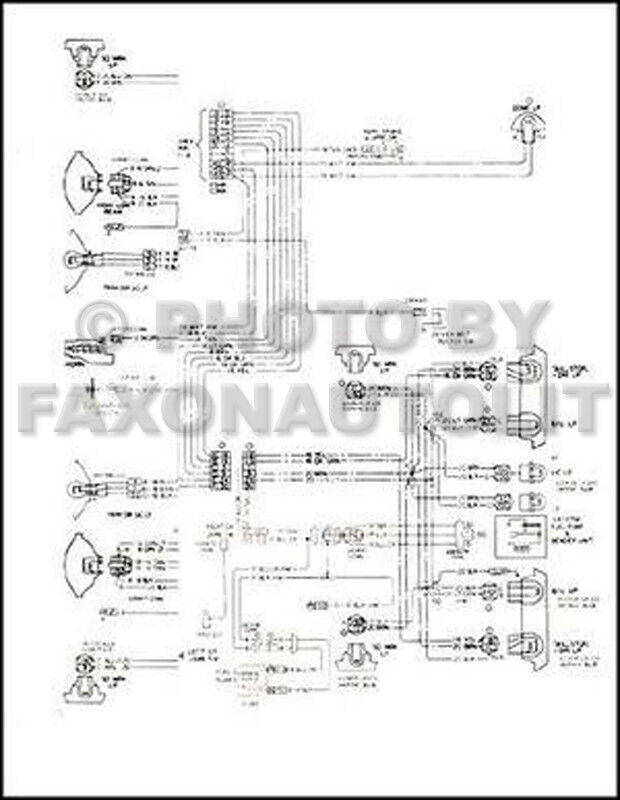 1975 Chevy    GMC    G Van    Wiring       Diagram    Beauville Sportvan