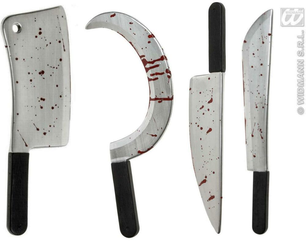 blutiges beil machete messer sichel halloween sense 860 ebay. Black Bedroom Furniture Sets. Home Design Ideas