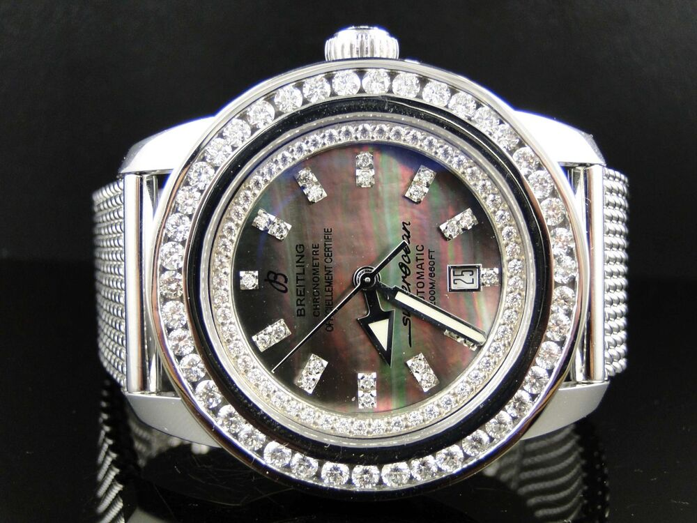 used diamond breitling watches for sale
