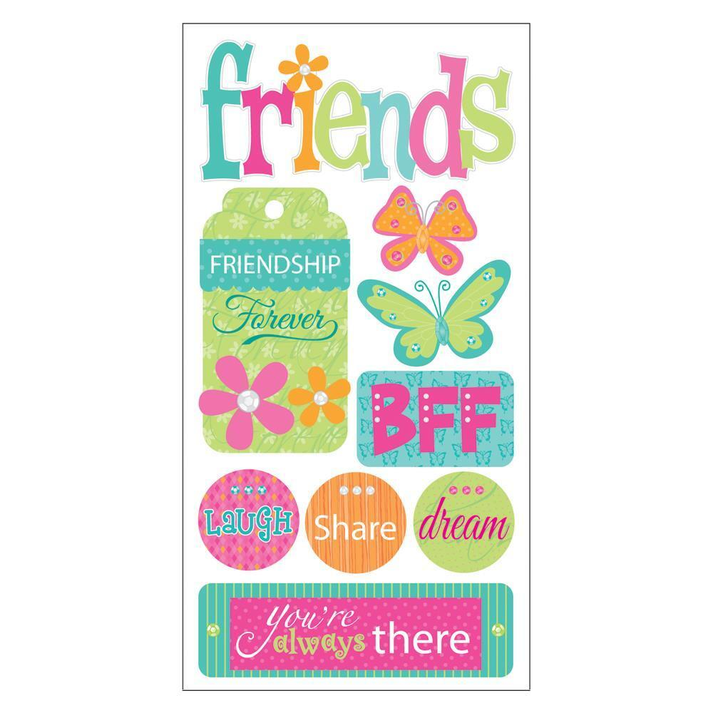 SANDYLION ESSENTIALS FRIENDS FRIENDSHIP BFF DIMENSIONAL 3D ...