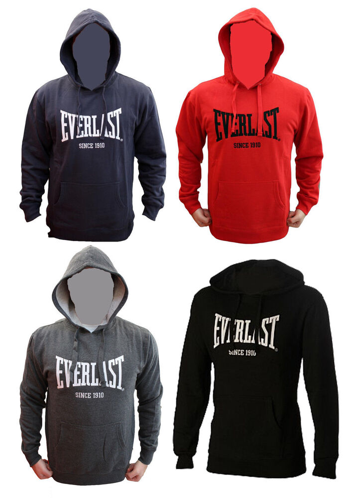 everlast authentic mens hoodie jumper fitness workout ebay aus ebay. Black Bedroom Furniture Sets. Home Design Ideas