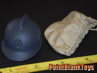 DID WWI FRENCH INFANTRY HELMET & COVER PASCAL DUBOIS 1/6 SCALE TOYS dragon