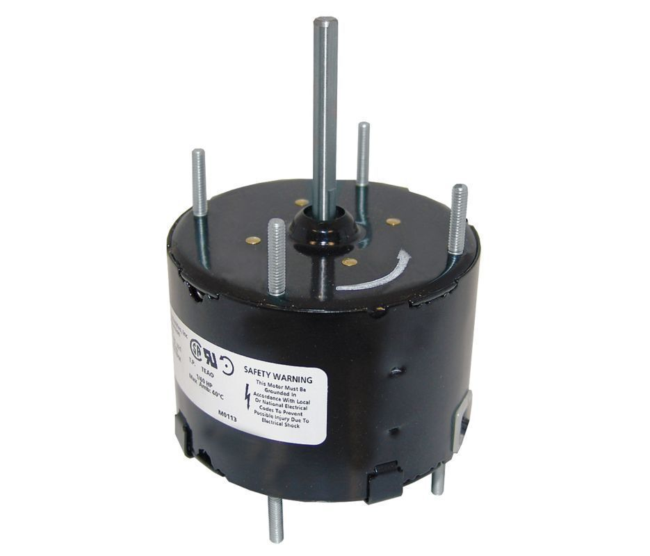 "1/60 Hp 3000 RPM 115V 3.3"" CCW Kitchen / Bath Fan Motor"