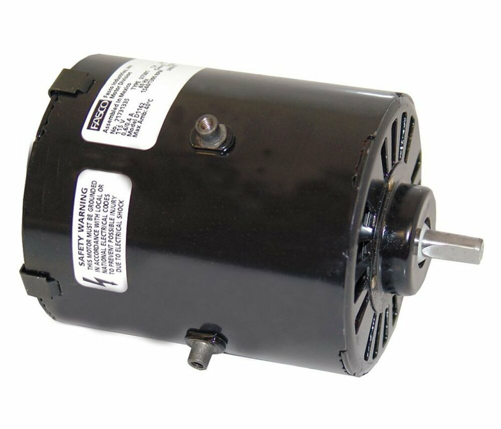 1 100 Hp 1500 Rpm 3 3 Diameter 115 Volts Fasco Electric Vent Fan Motor D1162 Ebay