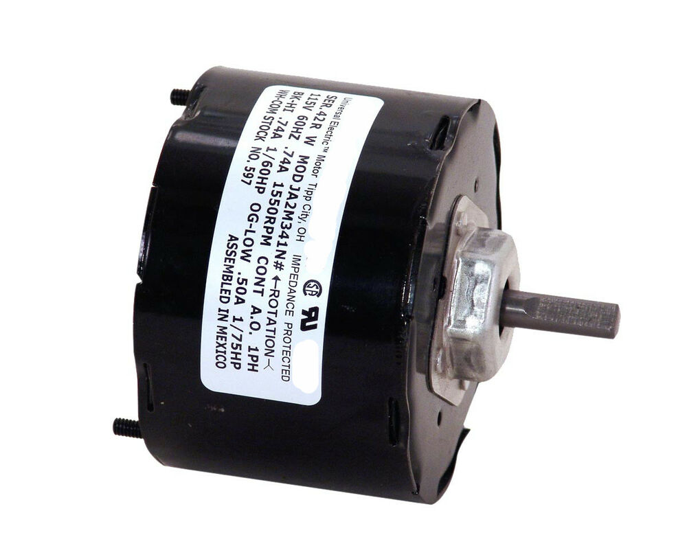 Replacement vent motor 999765 998810 1 60 hp 1550 rpm for Ao smith replacement motors