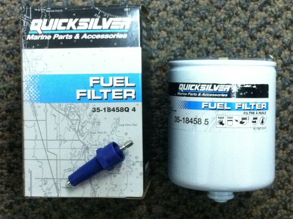 mercury mariner v6 efi optimax 96  fuel filter water