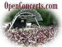 Open Concerts.com Music Concert Stage Lights Dance Event Set Up Domain Name