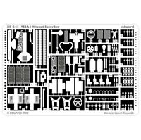 EDUARD 1/35 PE PHOTO-ETCHED DETAIL SET for ACADEMY M3A1 STUART - INTERIOR ONLY
