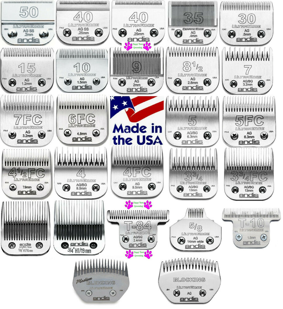 Andis ultraedge pet grooming bladefit most osterwahl for Andis dog clipper blade guide