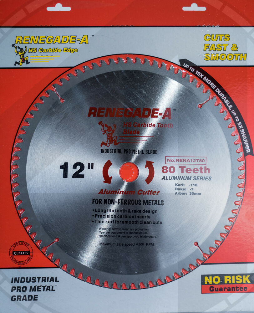 12 80 tooth aluminum cutting saw blades pro grade miter for 12 table saw blades
