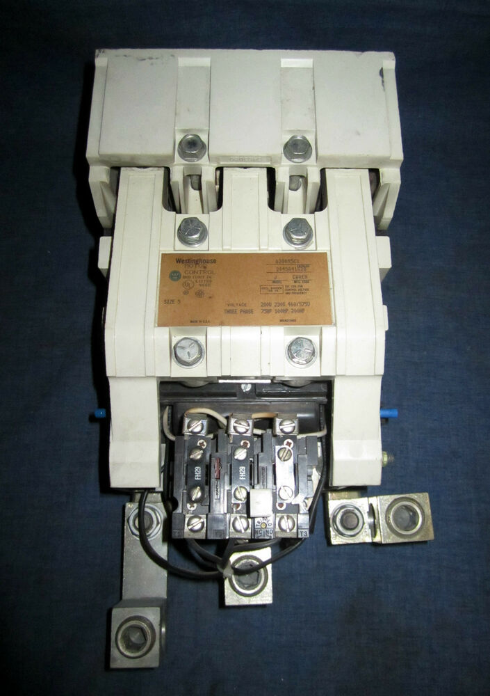 Westinghouse Size 5 Motor Control Open Starter A200m5cx