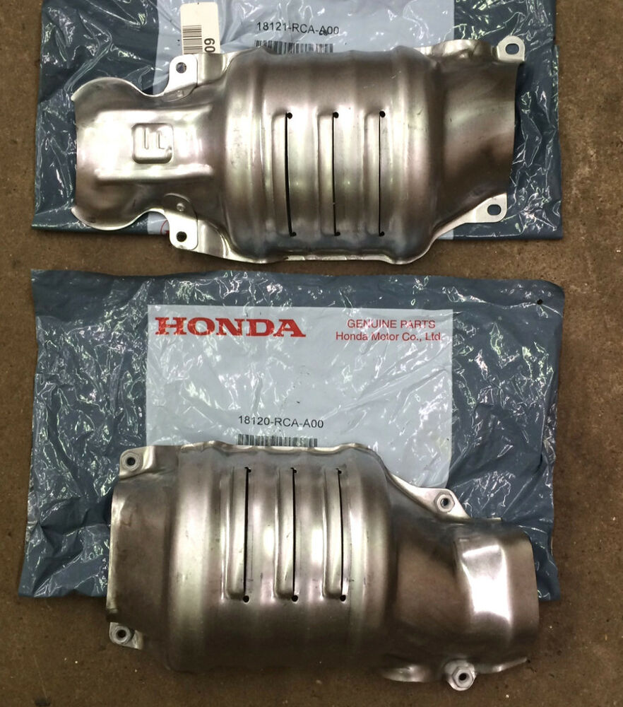 Genuine OEM Honda Front V6 Engine Compartment Catalytic