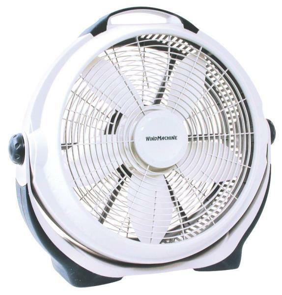 Powerful Floor Fans : New lasko powerful wind machine quot speed gray high