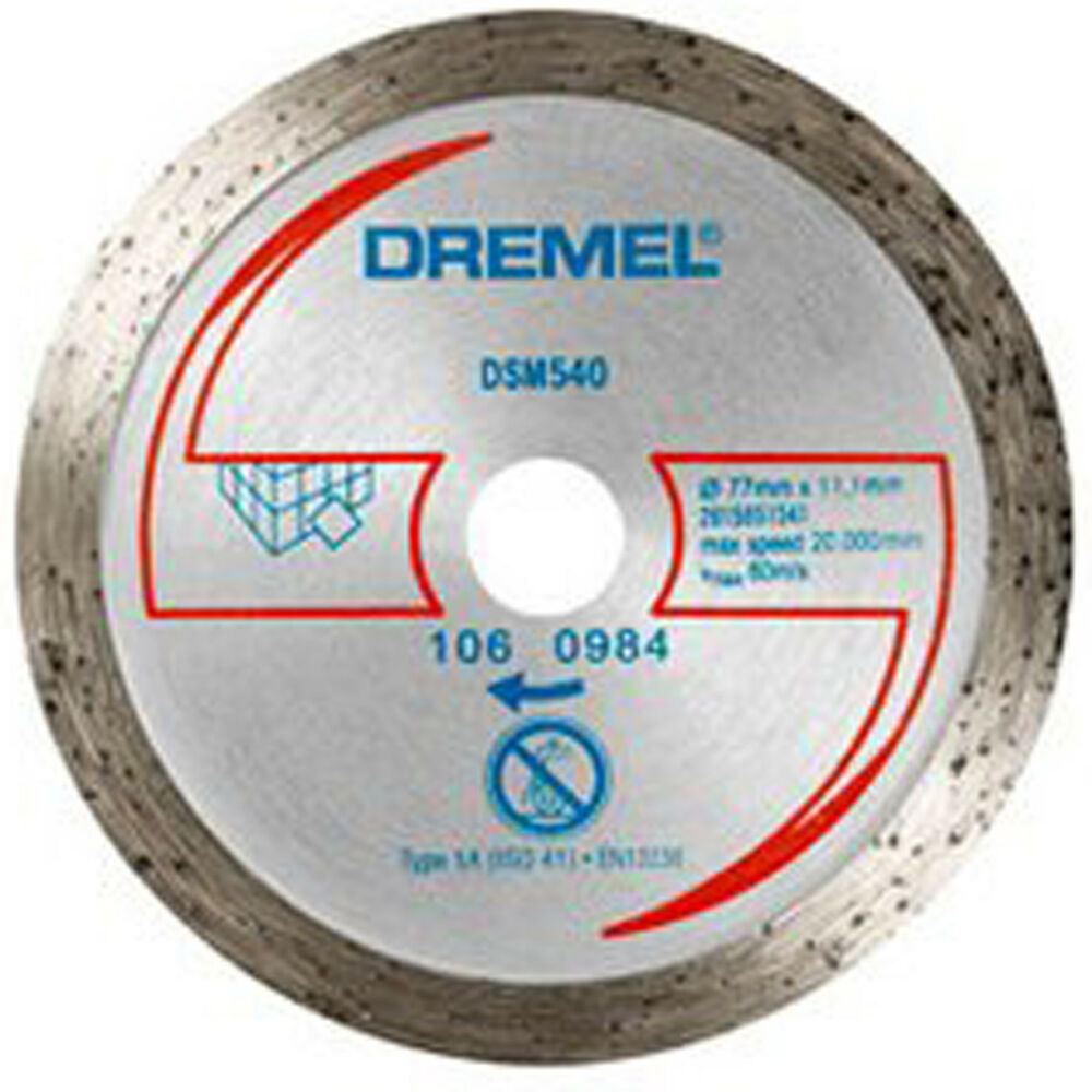 Dremel Dsm540 Diamond Tile Cutting Wheel Disc Blade For