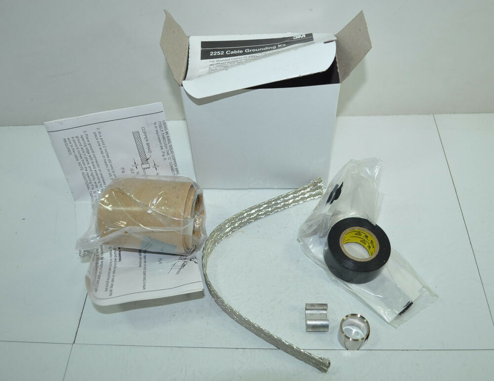 Cable Grounding Kit : M shielded awg cable grounding kit model