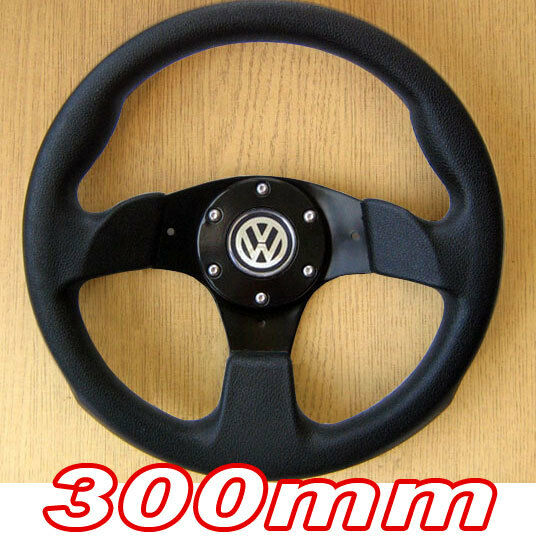 volant tuning 300mm pour vw golf 1 2 3 4 gti polo 6n 6n2 corrado jetta passat ebay. Black Bedroom Furniture Sets. Home Design Ideas