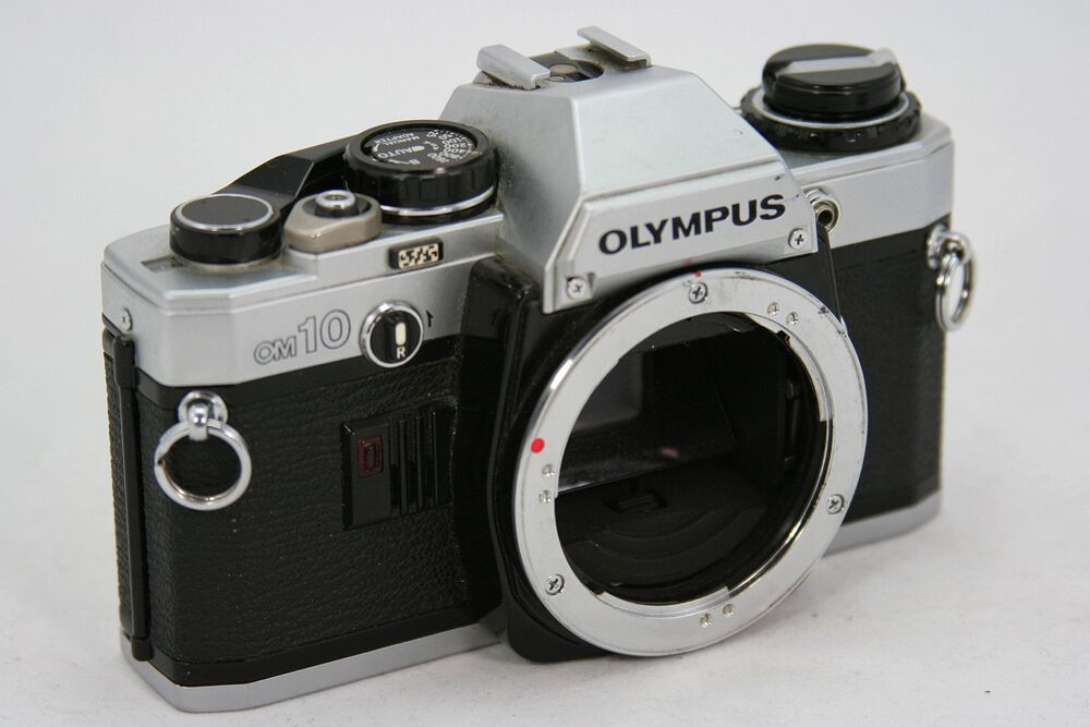 File:Vintage Olympus OM-10 35mm SLR Film Camera, Made In ... |Olympus Vintage Camera
