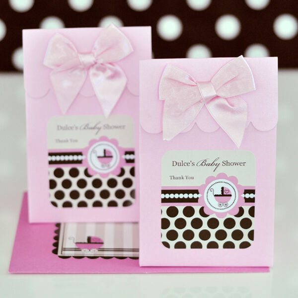 24 Personalized Pink Baby Shower Theme Baby Girl Candy