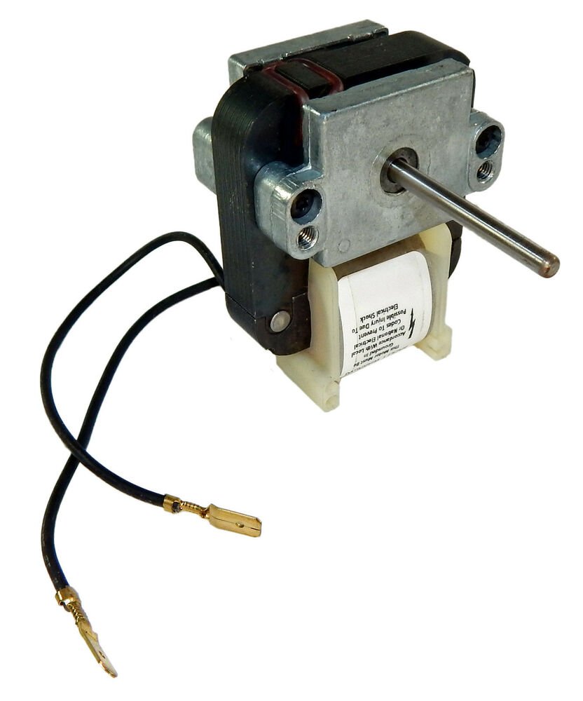 Fasco Bathroom Fans: Fasco C-Frame Refrigeration Fan Motor .74 Amps 1100 RPM