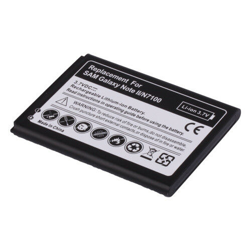 replacement battery for samsung galaxy note 2 note ii gt n7100 n7100 ebay. Black Bedroom Furniture Sets. Home Design Ideas