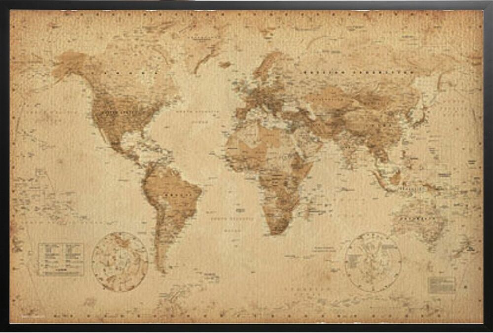 Punchy image pertaining to vintage world map printable