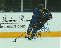 SCOTT MELLANBY signed ATLANTA THRASHERS 8X10 PHOTO COA