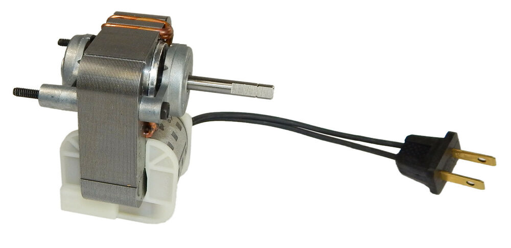 Broan replacement vent fan motor 1 4 amps 3000 rpm 120v for Broan exhaust fan motor replacement