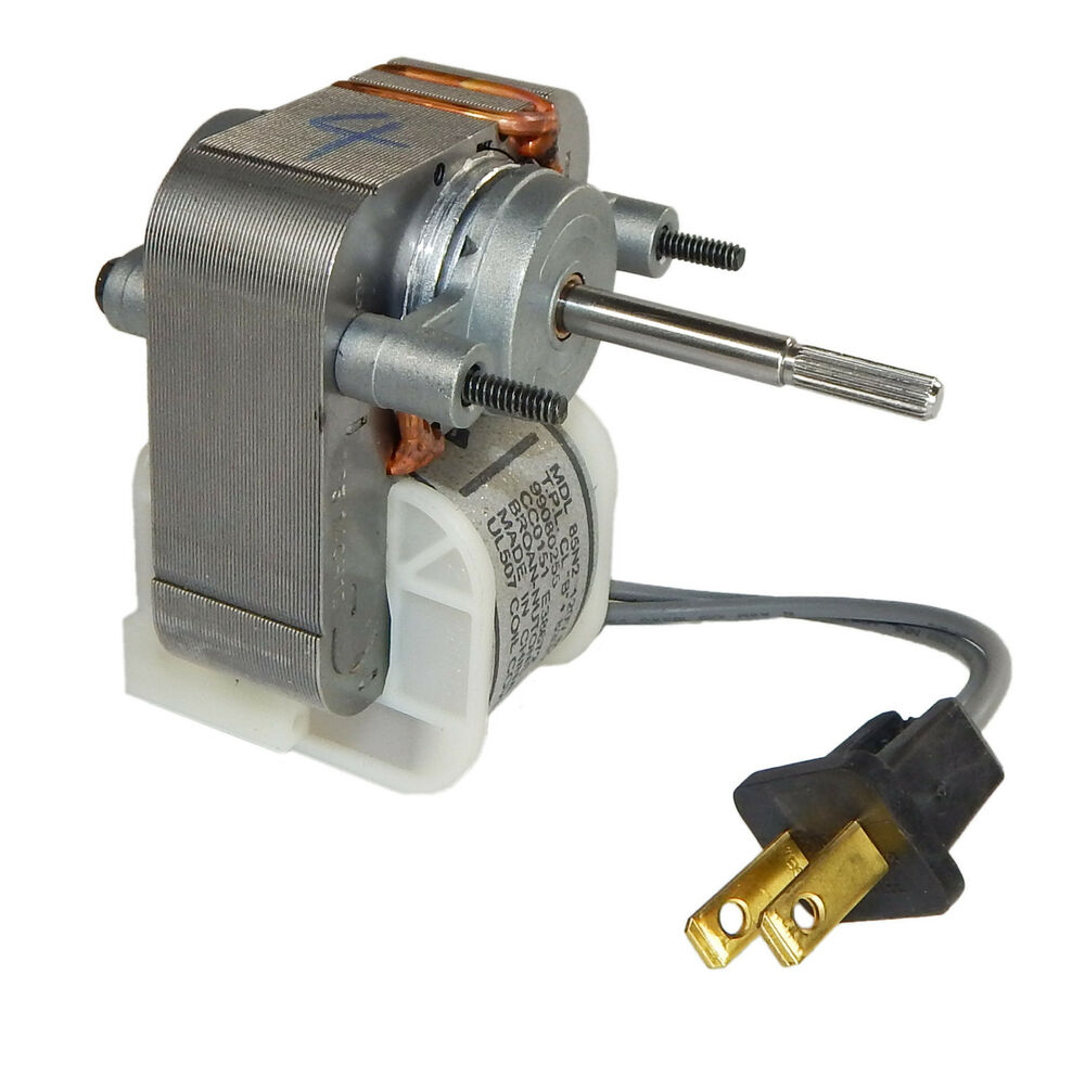Broan 671 replacement bath fan motor 1 5 amps 1500 rpm for Bath fan motor replacement