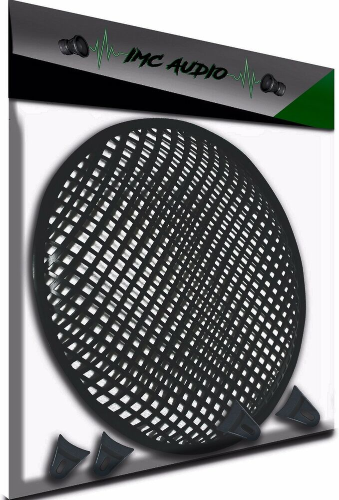 12 Quot Subwoofer Grill ~ Inch subwoofer speaker covers waffle mesh grill protect