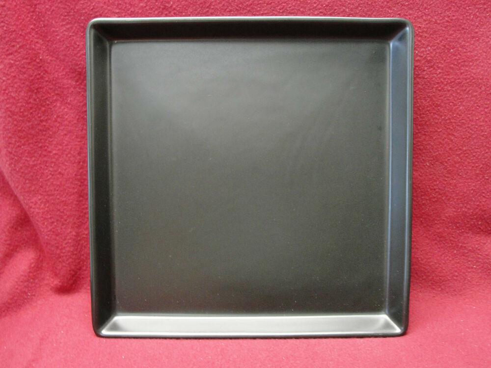 ikea china 15199 black square dinner plate ebay