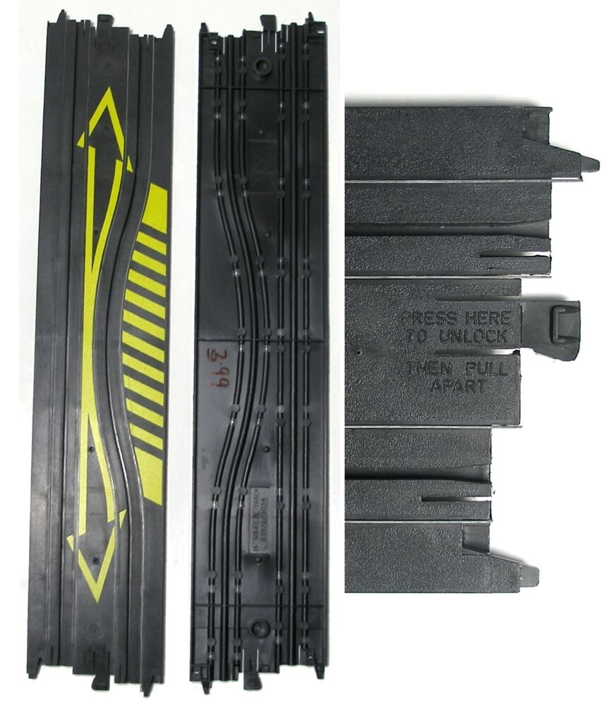 """1 TYCO VINTAGE HO Slot Car 15"""" Straight SqUeEzE Track 5872"""