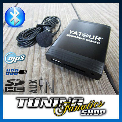 bluetooth bt usb sd hc mp3 cd changer aux in adapter vw. Black Bedroom Furniture Sets. Home Design Ideas