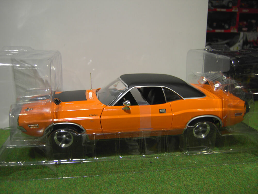 dodge challenger r t fast and furious 1 18 voiture miniature d greenlight 12846 ebay. Black Bedroom Furniture Sets. Home Design Ideas