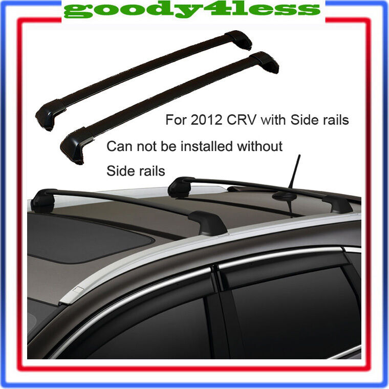 2012 2015 honda crv black roof rack cross bar bolt on to. Black Bedroom Furniture Sets. Home Design Ideas