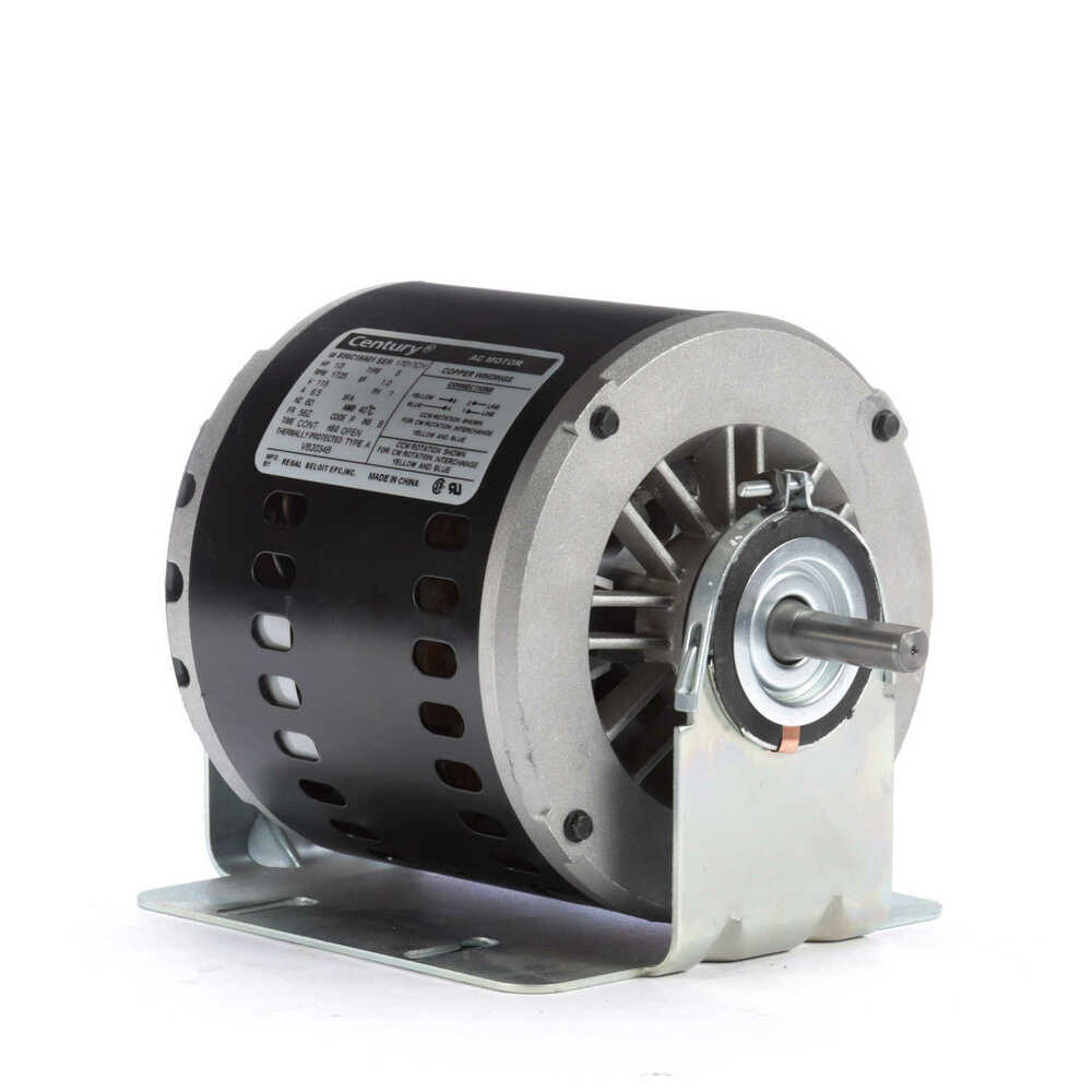 Evaporative cooler motor 1 3 hp 1725 rpm 56z frame 115v for Ao smith ac motor 1 2 hp