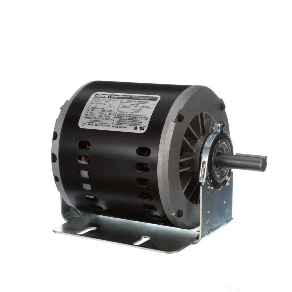 evaporative cooler motor 3 4 hp 1725 rpm 2 speed 56z frame