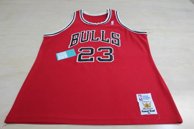Vintage Macgregor Sand Knit Nba Chicago Bulls Air Jordan
