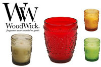 NEW Woodwick Scented Candles Vintage Glass Jar 5.8oz Great Gift Present