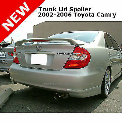 toyota camry 02 06 abs trunk rear wing 3rd led aero spoiler unpainted primer ebay. Black Bedroom Furniture Sets. Home Design Ideas
